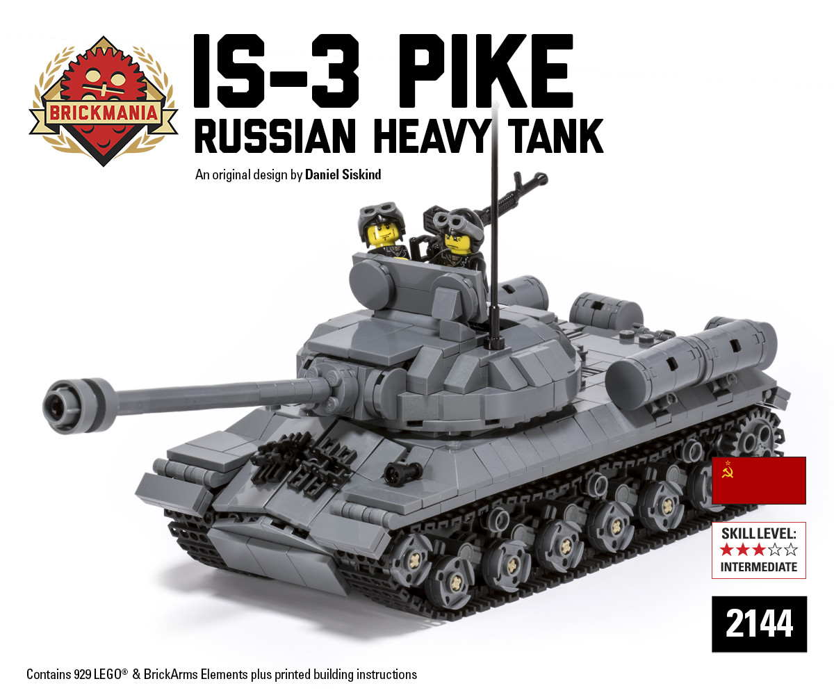 New Release Is 3 Pike Russian Heavy Tank Brickmania Blog