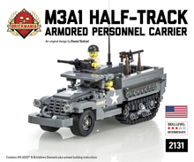 M3A1 Half-track Personnel Armored Carrier