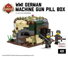 WWI German Machine Gun Pillbox