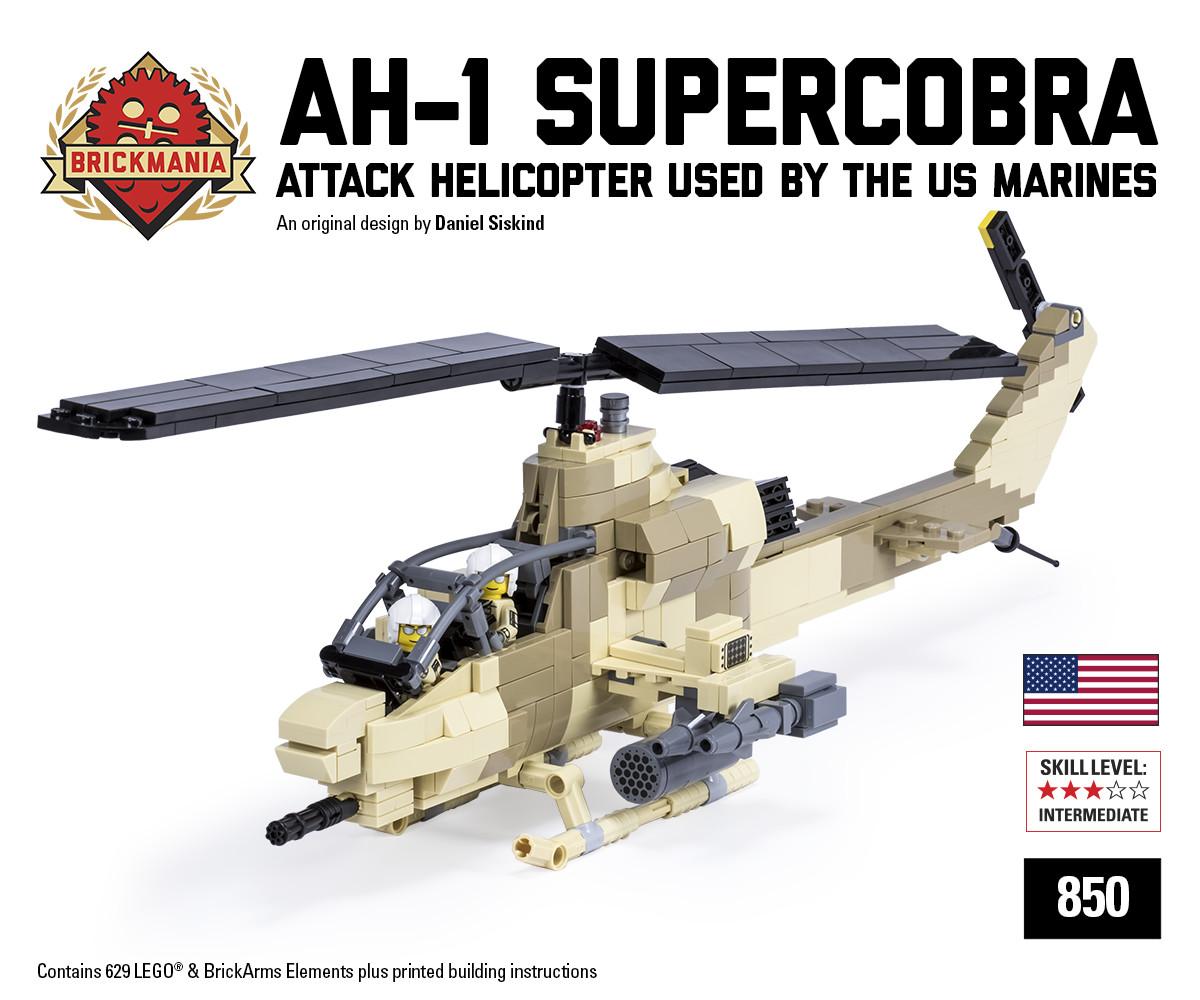 New Release: AH-1W SuperCobra | Brickmania Blog