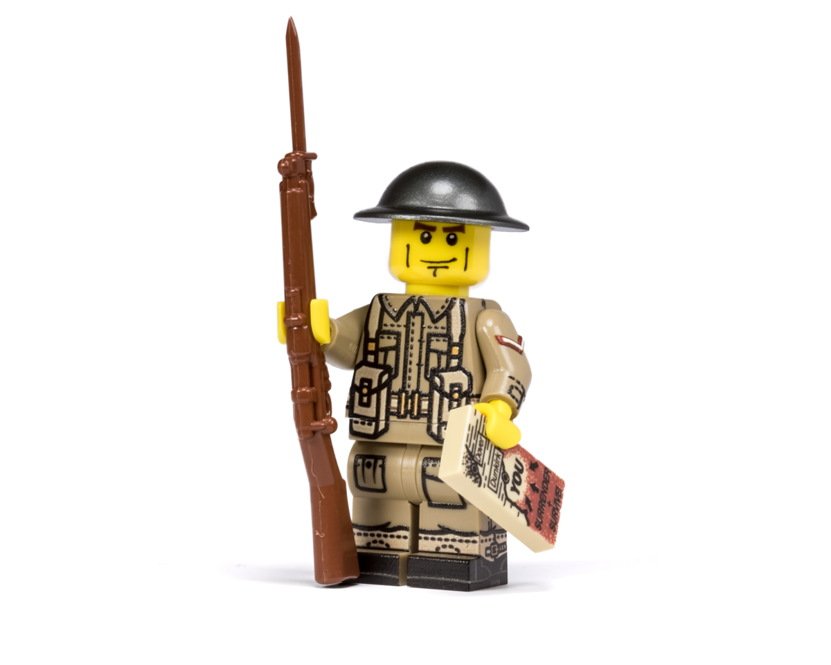Lego ww2 british soldiers