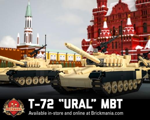 846 T-72 Ural MBT Promo Action