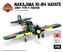 Nakajima Ki-84 Hayate - Army Type 4 Fighter