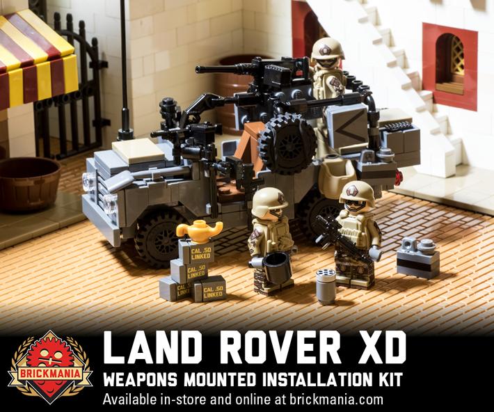 Restock: Land Rover XD WMIK – Dark Gray