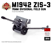 Zis-3 76mm Field Gun