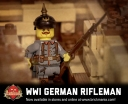 WWI German Rifleman