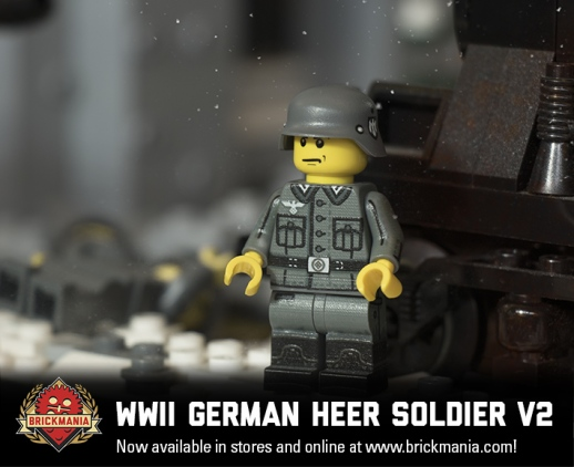 WWII German Heer Soldier V2