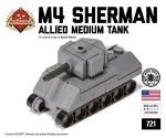 Micro Brick Battle - M4 Sherman
