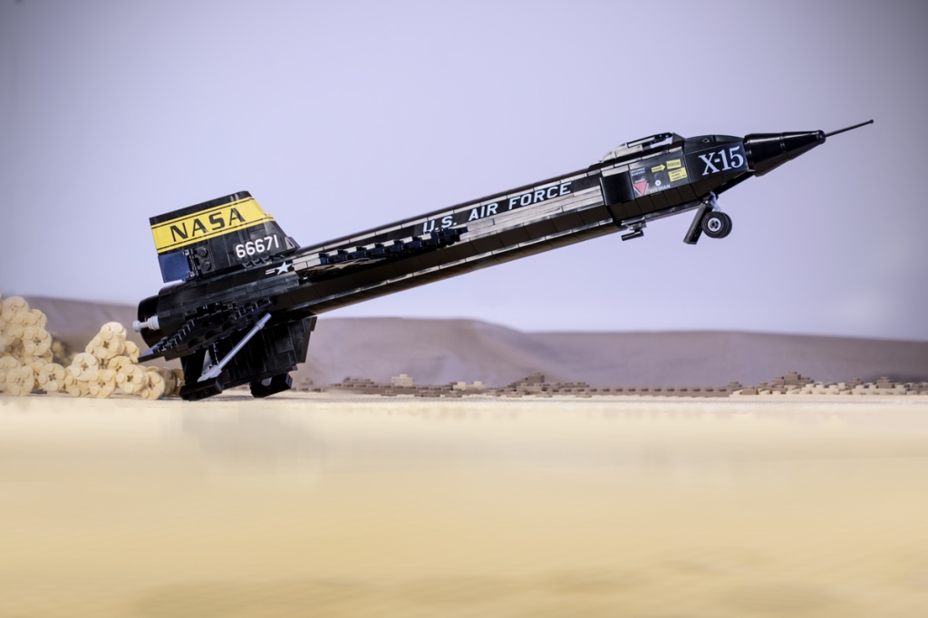 X-15 Rocket Plane | Brickmania Blog