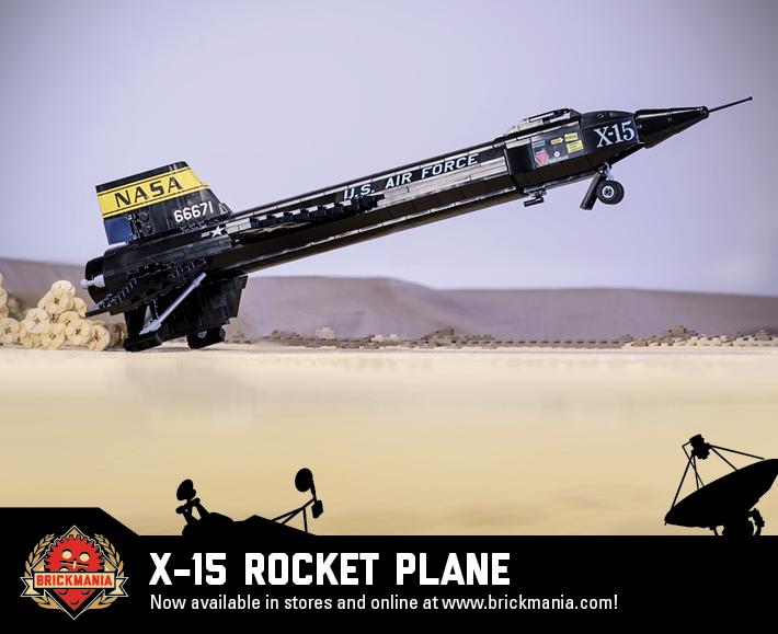 Building On the Past: X-15 | Brickmania Blog