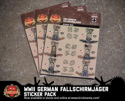BSP010 Fallschirmjager Webcard