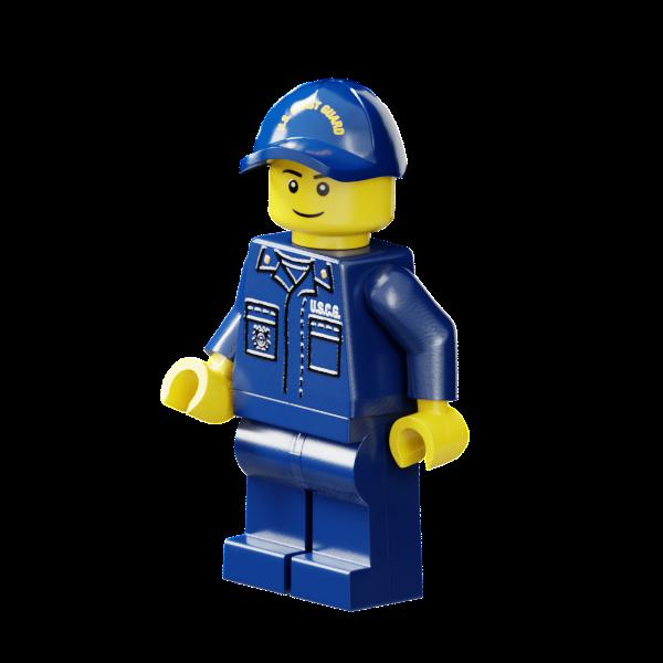 US Coast Guard Petty Officer (Male)