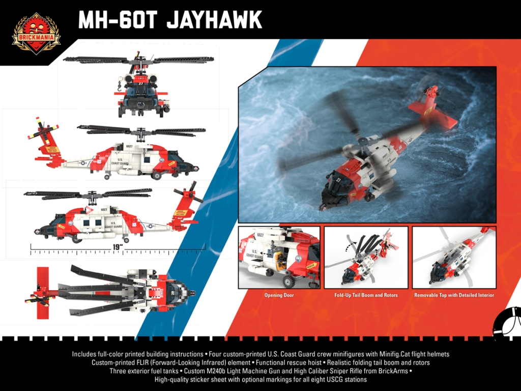 MH-60T Jayhawk back cover
