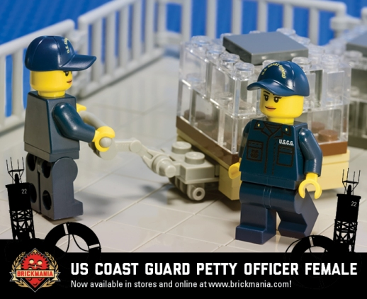 US Coast Guard Petty Officer (Female)
