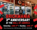 Celebrate Brickmania's 3rd Anniversary at the Mall of America