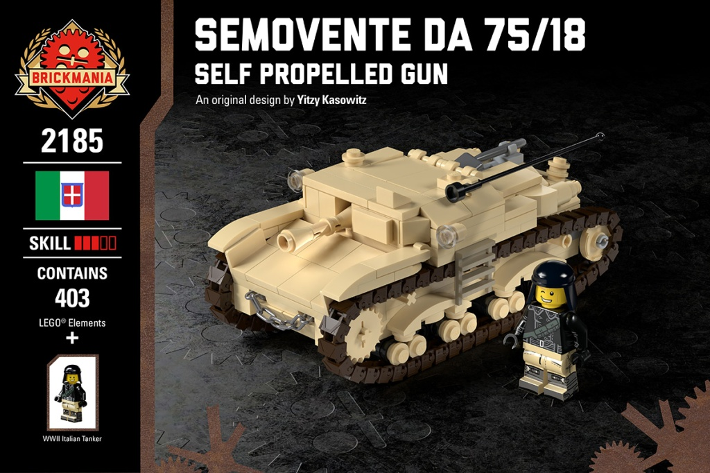 Semovente Da 75/18 - Self Propelled Gun