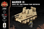 Marder III - SdKfz 139 - WWII German Tank Destroyer