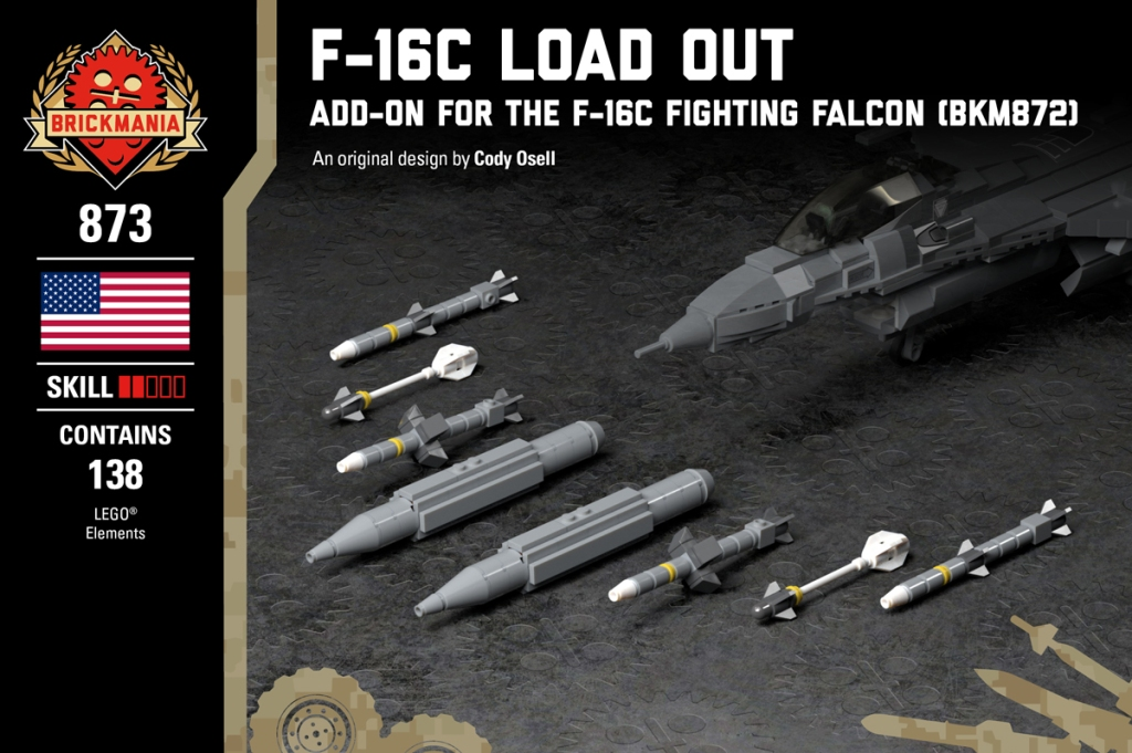 F-16C Load Out - Add-on for the F-16C Fighting Falcon