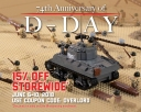 Honoring D-Day 74th Anniversary