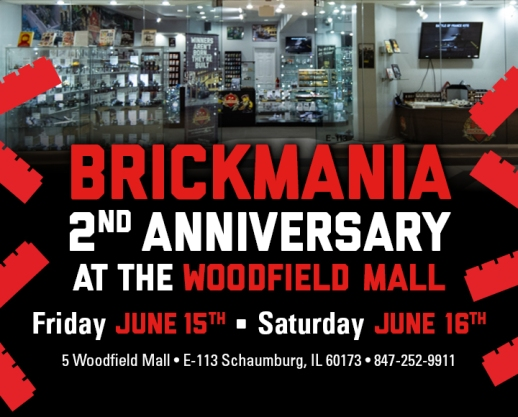 Brickmania's 2nd Anniversary at Woodfield Mall
