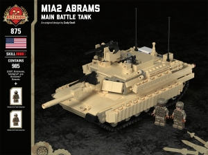 M1A2 Abrams - Main Battle Tank