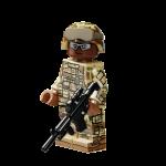 Modern US Army Rifleman (Reddish Brown)