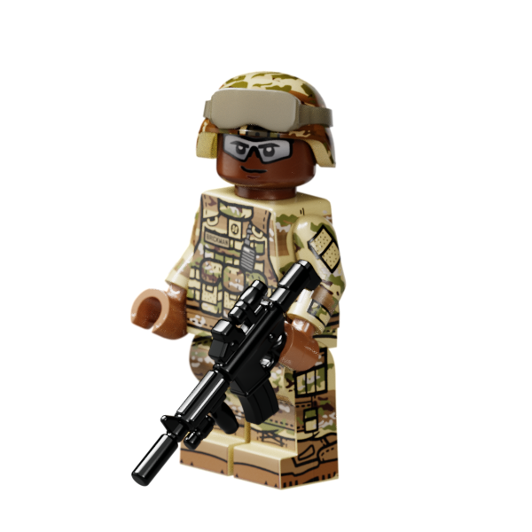 Modern US Army Rifleman (Reddish Brown)
