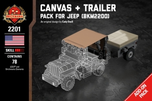 Canvas + Trailer - Pack for Jeep