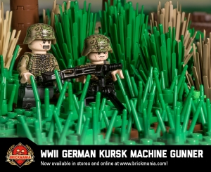 WWII German Kursk Machine Gunner
