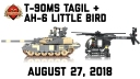 Brickmania TV: T-90MS Tagil - Main Battle Tank & AH-6 Little Bird - Light Attack Helicopter