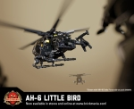 AH-6 Little Bird – Light Attack Helicopter