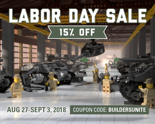 Labor Day Sale - Save 15%