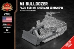 M1 Bulldozer - Pack for M4 Sherman