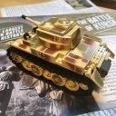 Panzer with stickers applied