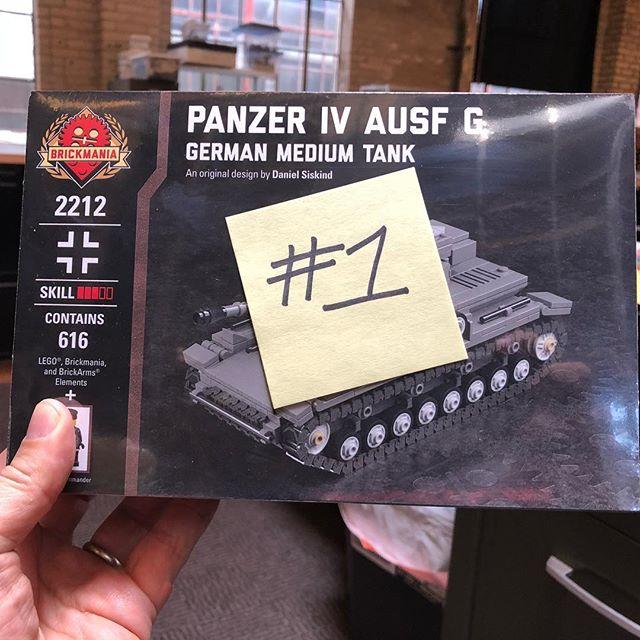 Copy #1 of Brickmania's Panzer IV Ausf G by Daniel Siskind