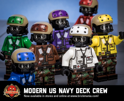 Modern US Navy Deck Crew