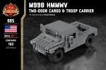 M998 HMMWV - Two-Door Cargo & Troop Carrier