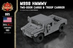 M998 HMMWV - Two-Door Cargo & Troop Carrier