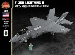 F-35B Lightning II - STOVL Stealth Multirole Fighter