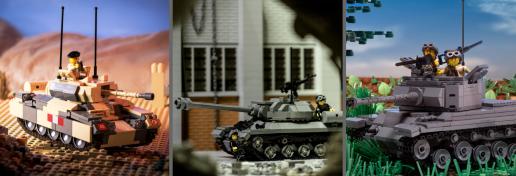 Crusader Mk III - World War II Cruiser Tank, IS-3 Pike - Russian Heavy Tank and M26 Pershing Tank