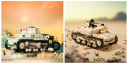 Carro Armato M13/40 - Italian Medium Tank and Semovente Da 75/18 - Self Propelled Gun