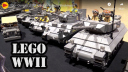 100+ Custom LEGO WWII Vehicles by Brickmania – Beyond the Brick