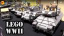 100+ Custom LEGO WWII Vehicles by Brickmania – Beyond the Brick