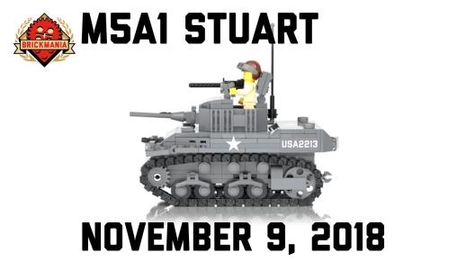 Brickmania TV: M5A1 Stuart - World War II Light Tank