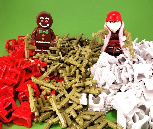 Our BrickArms Freebies Are Getting Festive