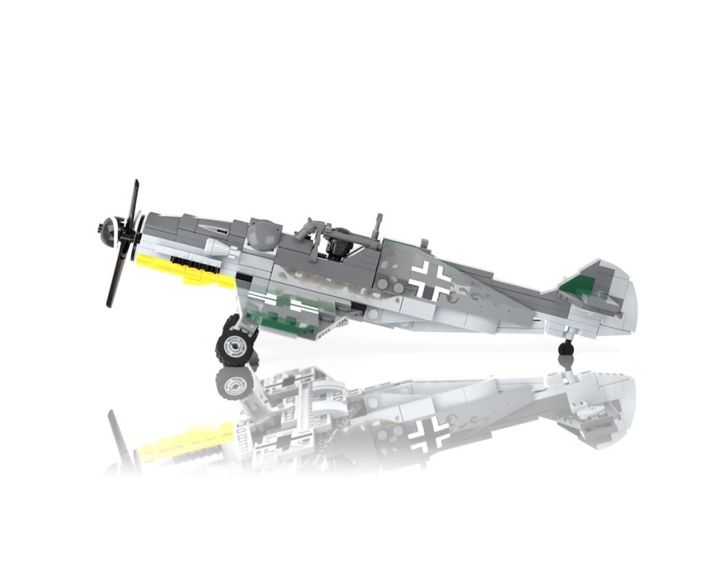 Messerschmitt Bf 109 - WWII Fighter Aircraft