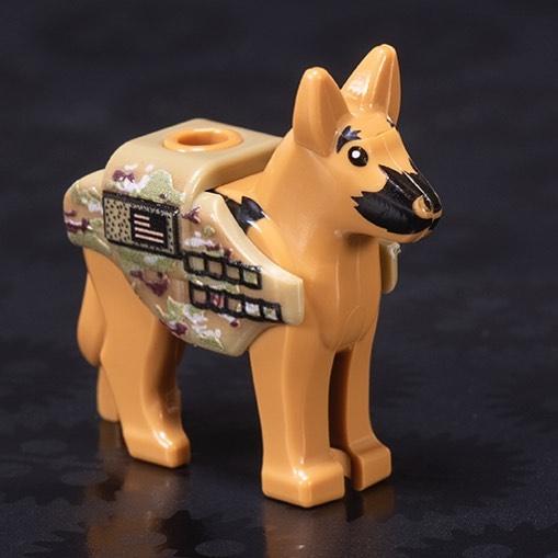 Brickmania's Military Working Dog