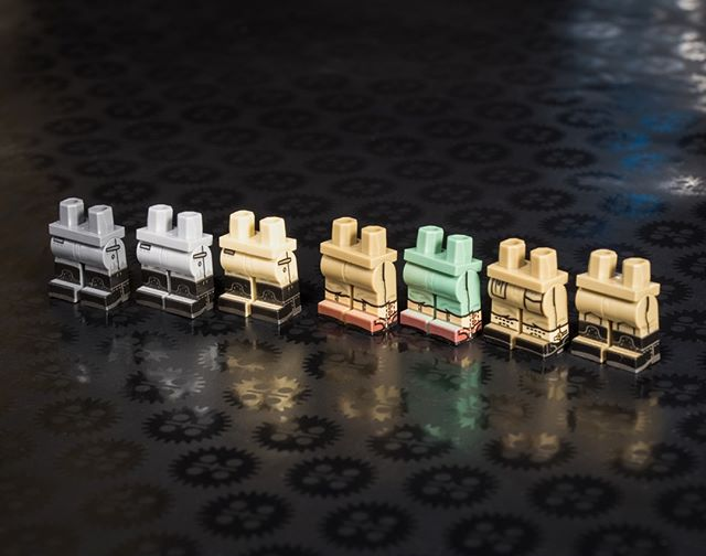 Our New WWII Custom Printed Minifig Legs Are Available Now