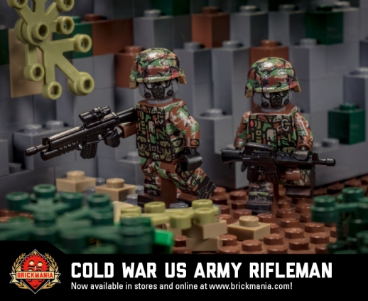 Cold War US Army Rifleman