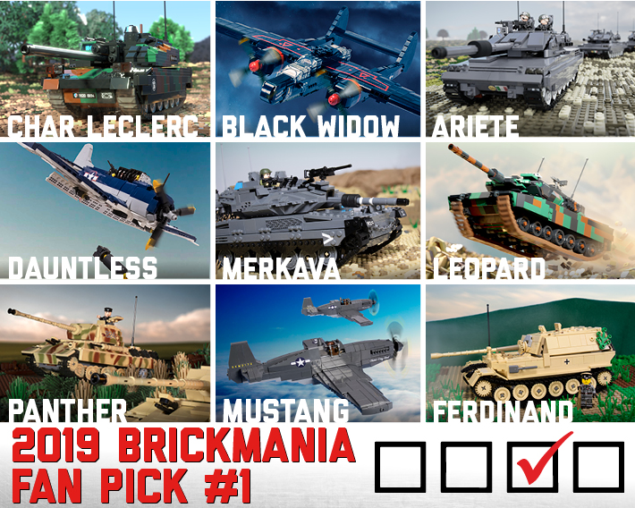 2019 Brickmania Fan Pick #1